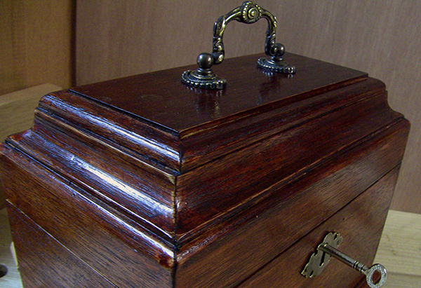 Tea caddy mouldings