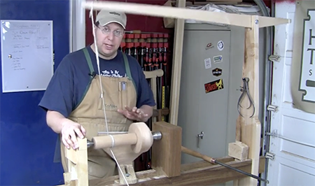 faceplate turning lesson