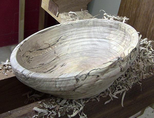 pole lathe bowl