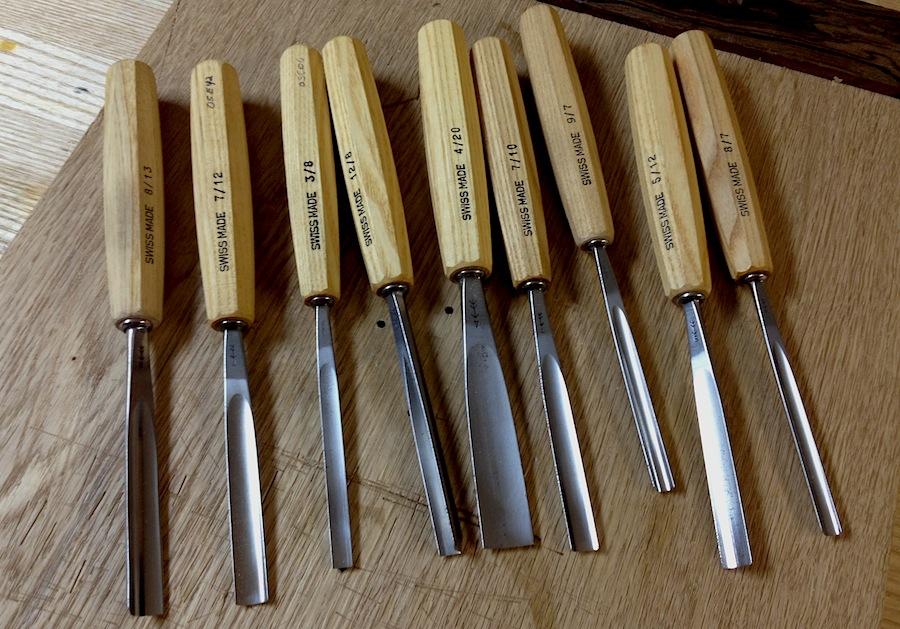 beginning carving chisel kit