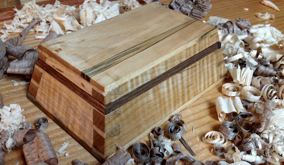 compound dovetail box