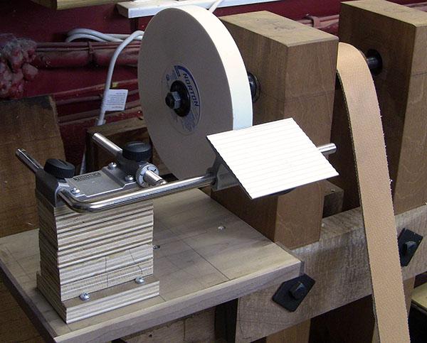 treadle grinding wheel