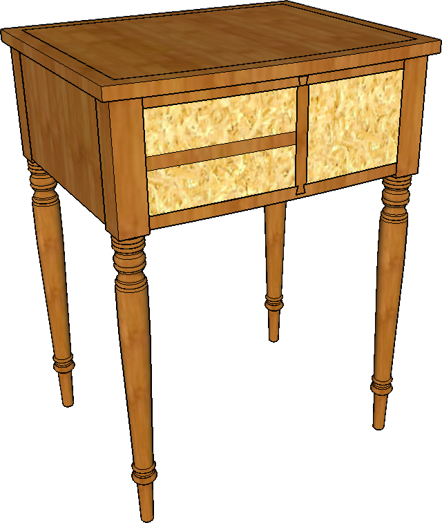 hand tool school bedside table