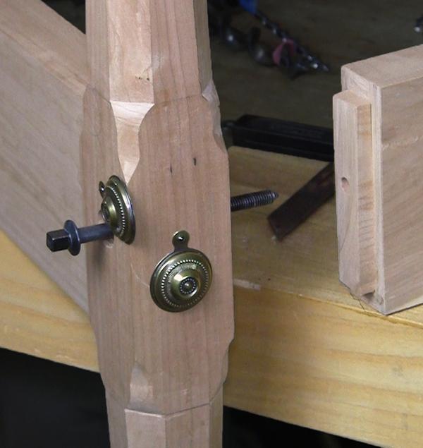 bed bolt construction