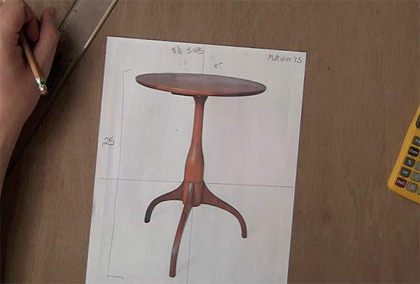 Hancock Shaker Table Design